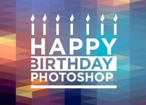 Photoshop Geburtstag