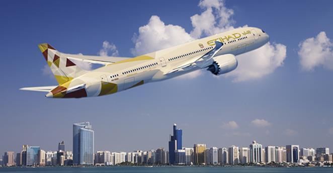 Etihad Airways, die nationale Fluggesellschaft der Vereinigten Arabischen Emirate