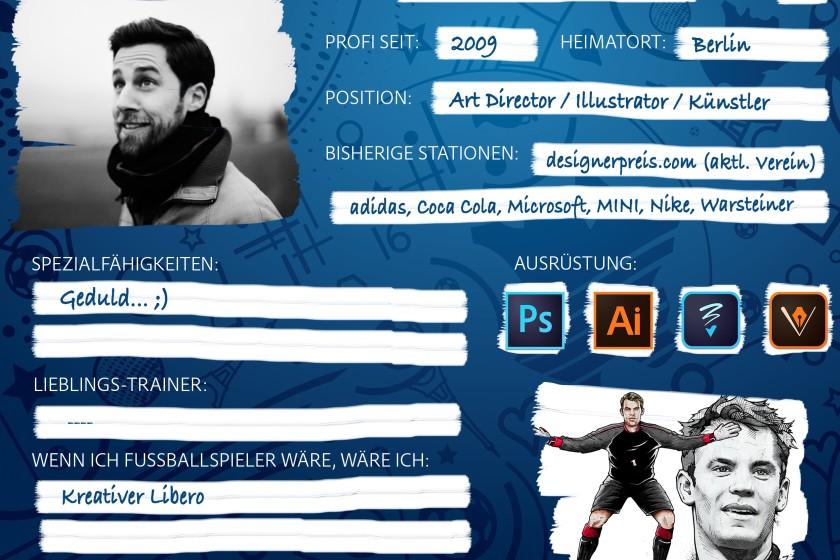 #SketchTheMatch – Unsere kreative Viererkette illustriert die Highlights der EM!