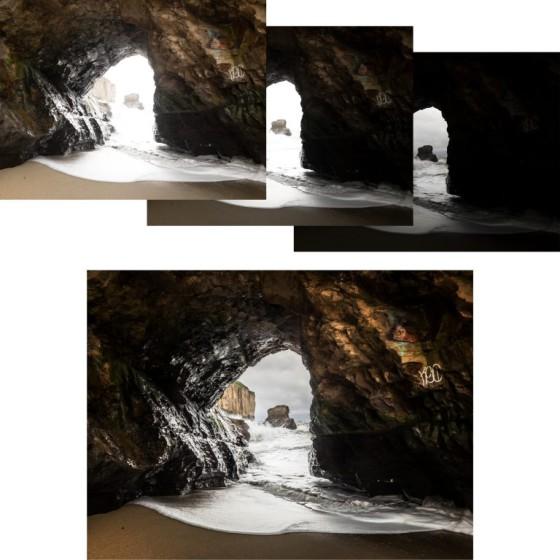 Three Image HDR Merge